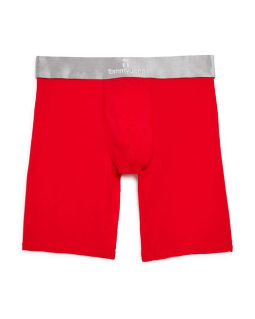 Tommy John   Red Second Skin Boxer Briefs for Men   Lyst