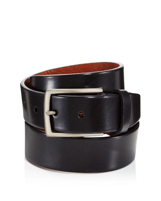 Trafalgar | Black Enrico Leather Belt for Men | Lyst