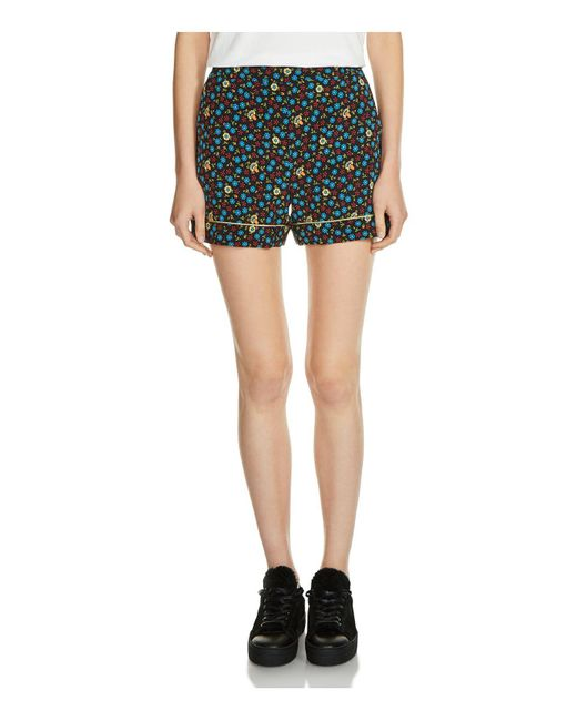 Maje | Multicolor Ivani Pajama Shorts | Lyst