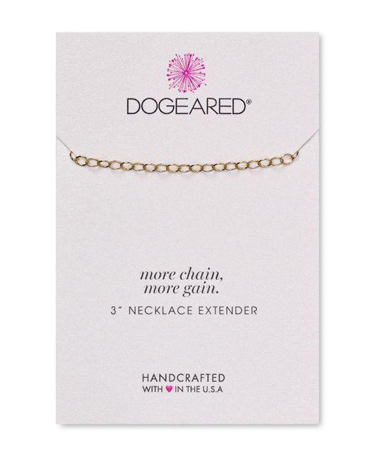 Dogeared - Metallic Necklace Extender - Lyst