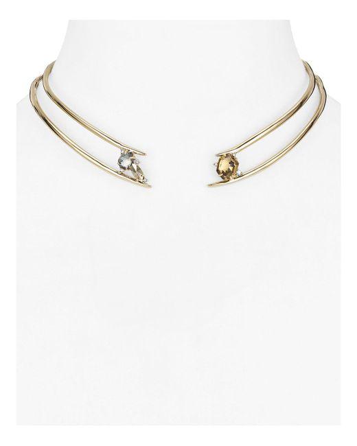 Alexis Bittar   Metallic Futurist Collar Necklace   Lyst