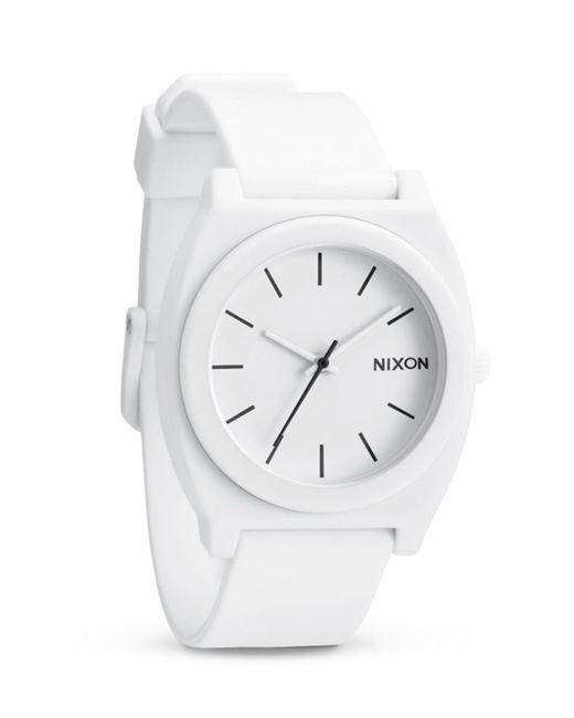 Nixon - White 47.75 X 39.25mm - Lyst