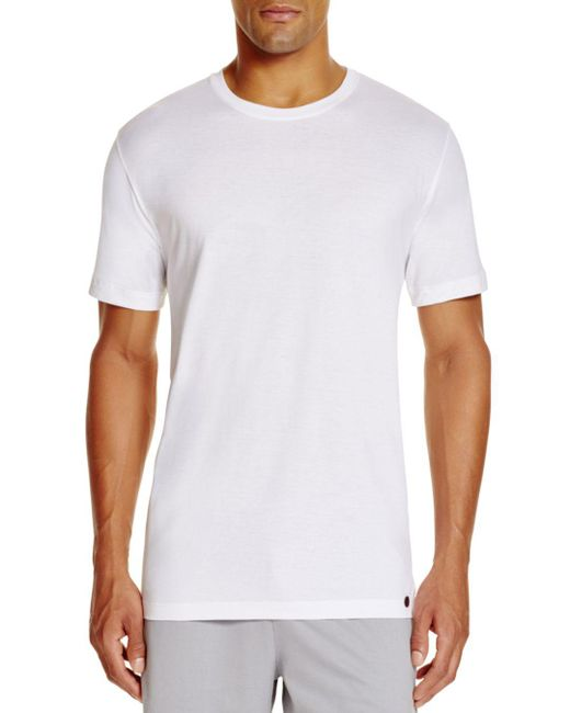 Hanro - White Night & Day Short Sleeve Shirt for Men - Lyst