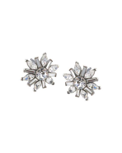 Carolee - Metallic Small Cluster Earrings - Lyst