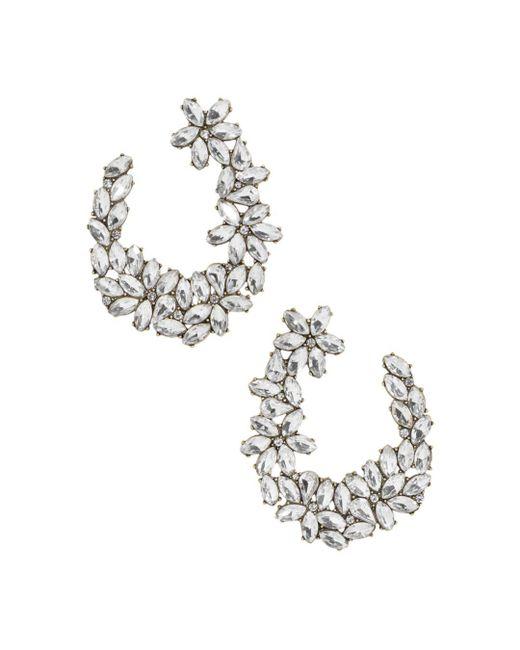 BaubleBar - Metallic Evolet Open Loop Cluster Drop Earrings - Lyst
