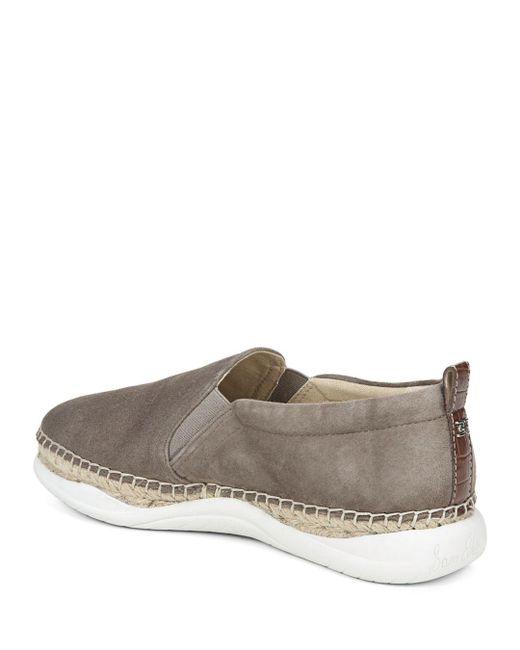 ef75140136e5 Lyst - Sam Edelman Women s Kassie Slip-on Espadrille Sneakers in Gray