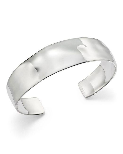 Ippolita - Metallic Sterling Silver Sensotm Textured Surface Cuff - Lyst