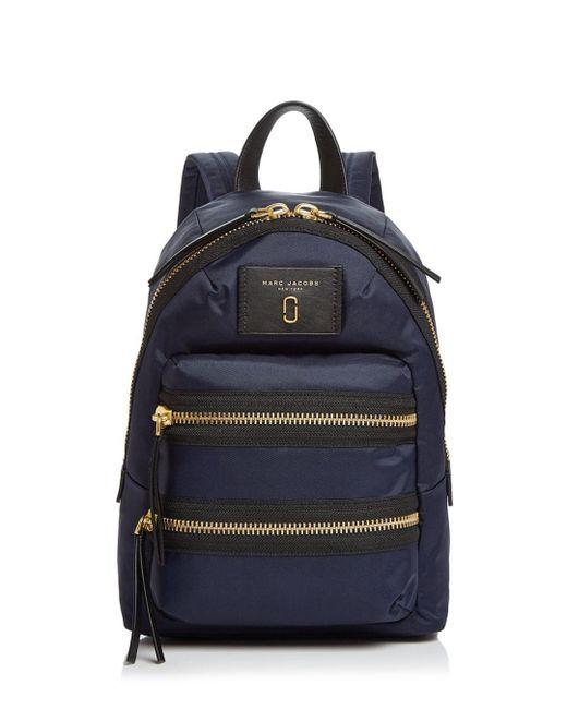 Marc Jacobs - Blue Biker Mini Nylon Backpack - Lyst