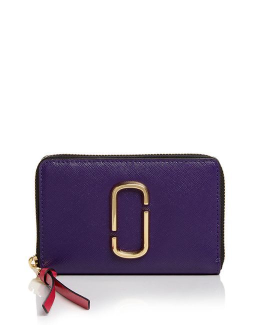 Marc Jacobs - Multicolor Snapshot Standard Small Leather Wallet - Lyst
