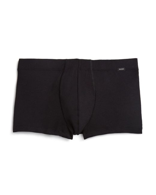 Hanro - Black Urban Touch Boxer Briefs for Men - Lyst