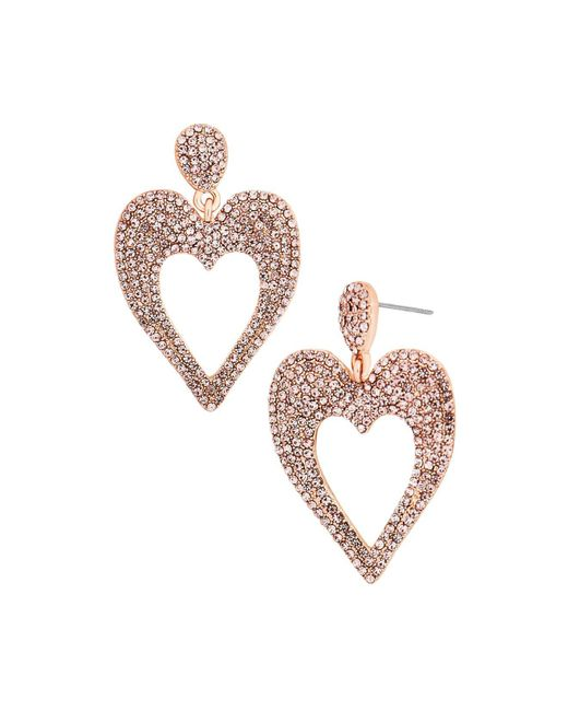 BaubleBar | Multicolor Amara Heart Drop Earrings | Lyst