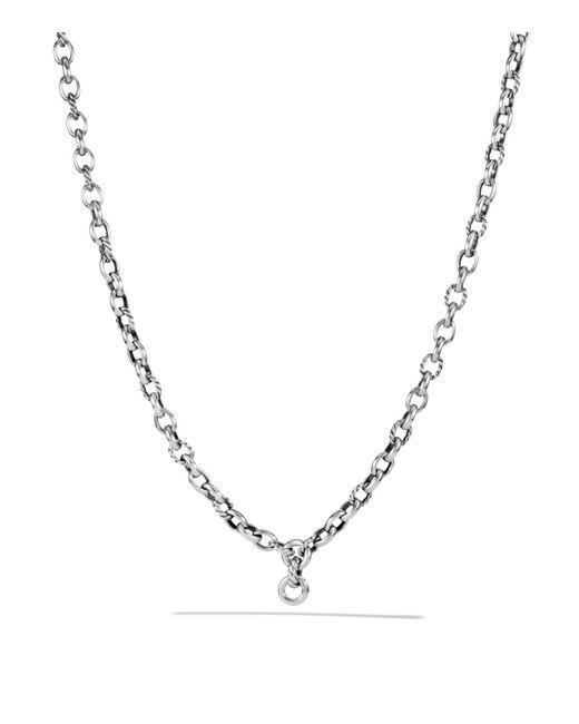 David Yurman   Metallic Oval Link Chain Necklace   Lyst