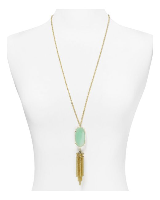 "Kendra Scott - Green 38"" - Lyst"