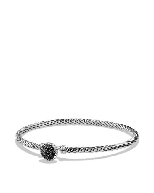 David Yurman - Metallic Châtelaine Bracelet With Black Diamonds - Lyst