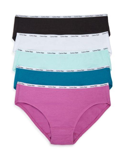 Calvin Klein - Multicolor Set Of 5 - Lyst