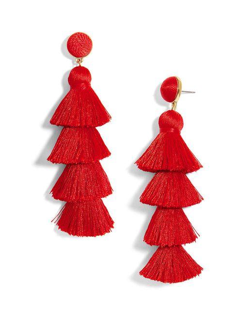 BaubleBar | Gabriela Tiered Tassel Earrings | Lyst