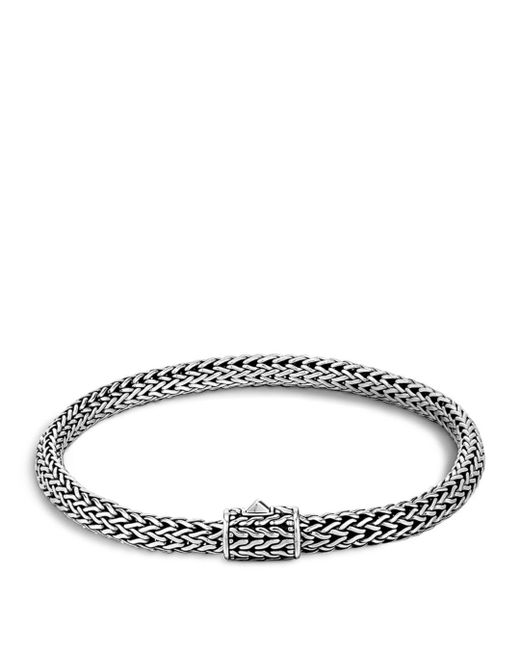 John Hardy - Metallic Classic Chain Sterling Silver Extra Small Bracelet for Men - Lyst