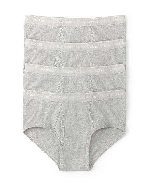 Calvin Klein | Gray Pack Of 4 for Men | Lyst