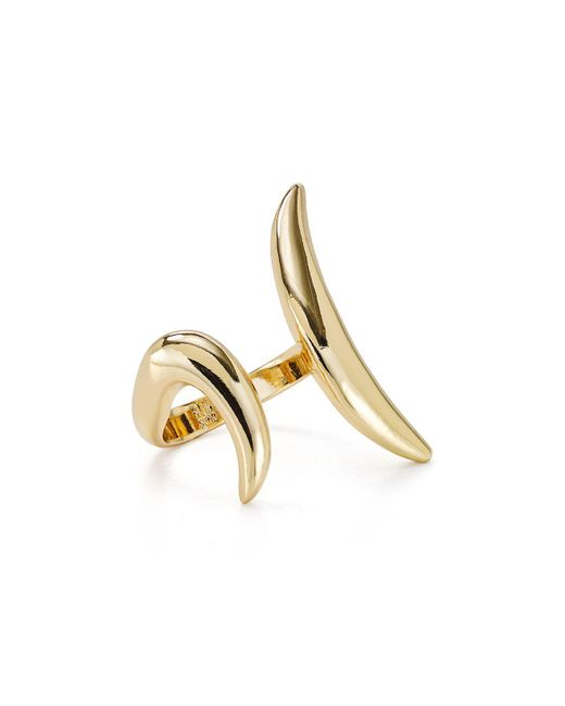 Robert Lee Morris - Metallic Open Statement Ring - Lyst