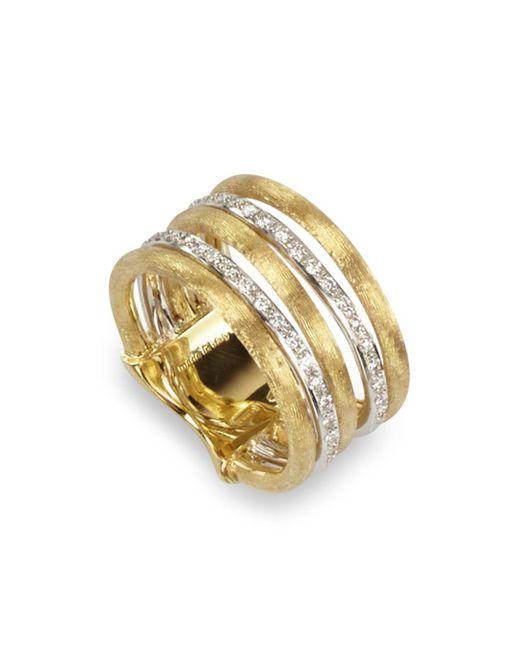 Marco Bicego - Metallic Diamond Jaipur Link 5-strand Band Ring - Lyst