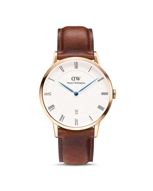 Daniel Wellington | Brown 38mm for Men | Lyst