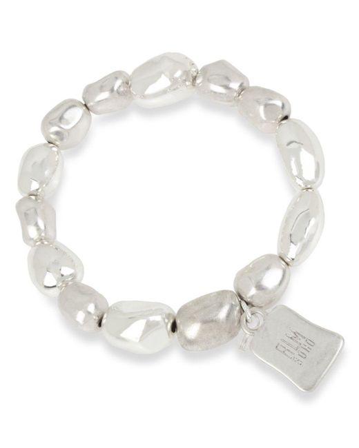 Robert Lee Morris - Metallic Beaded Stretch Bracelet - Lyst