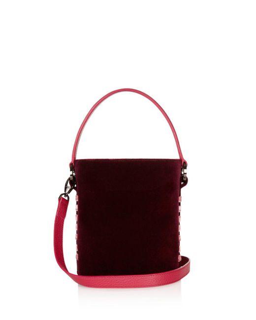Meli Melo - Multicolor Santina Mini Velvet Bucket Bag - Lyst