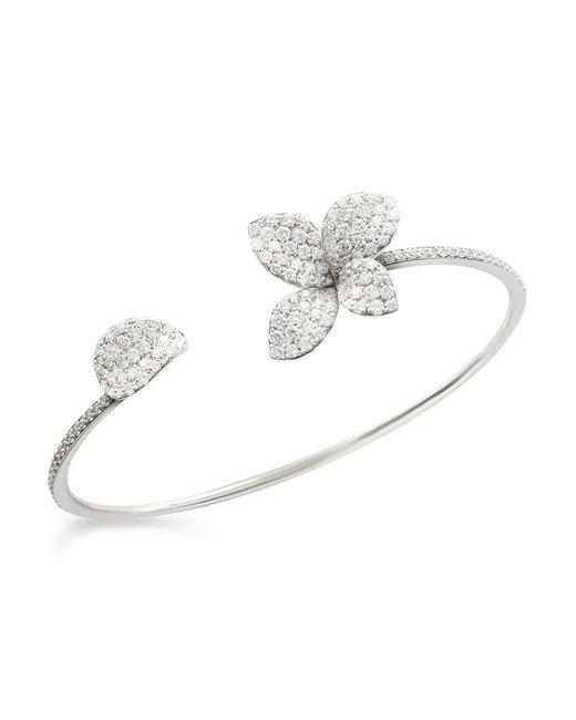Pasquale Bruni | 18k White Gold Secret Garden Pavé Diamond Cuff | Lyst