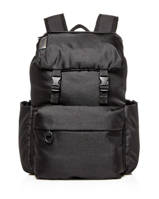 Mandarina Duck - Black Md Lifestyle Backpack With Flap for Men - Lyst ... c32668b21e22a