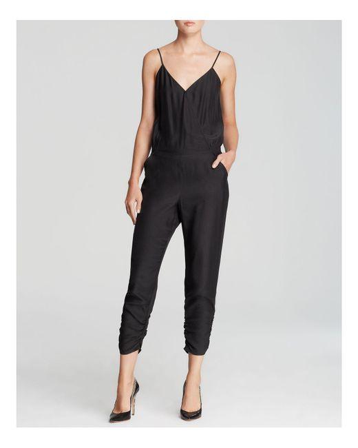 Parker   Black Jumpsuit - Liv Silk   Lyst