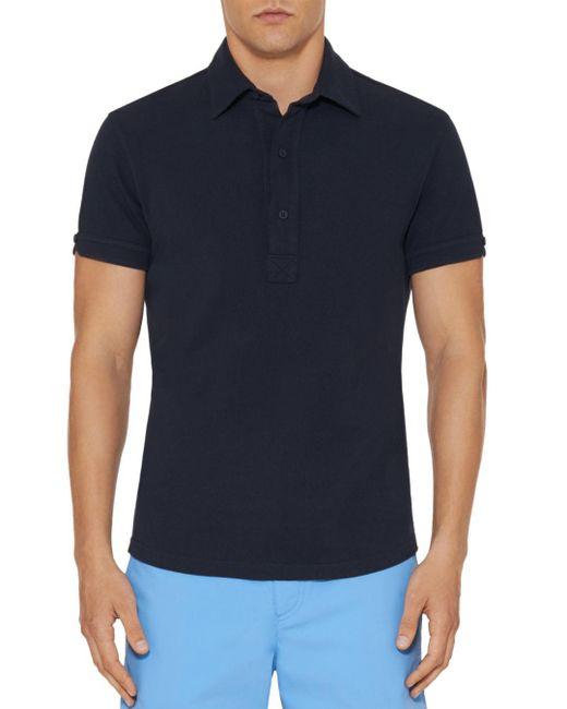 Orlebar Brown - Blue Sebastian Slim Fit Polo Shirt for Men - Lyst