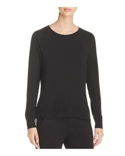 Marc New York - Black Performance Sweatshirt Style High/low Tee - Lyst