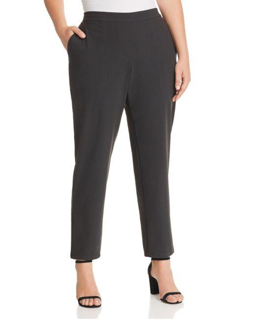 Lafayette 148 New York - Black Fulton Straight-leg Pants - Lyst