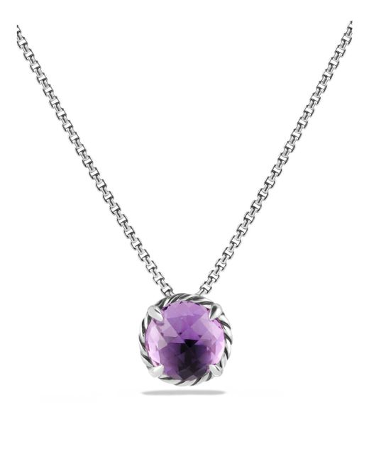 David Yurman - Purple Châtelaine Pendant Necklace With Amethyst - Lyst