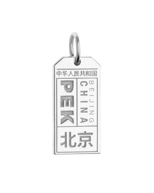 Jet Set Candy - Metallic Pek Beijing Luggage Tag Charm for Men - Lyst