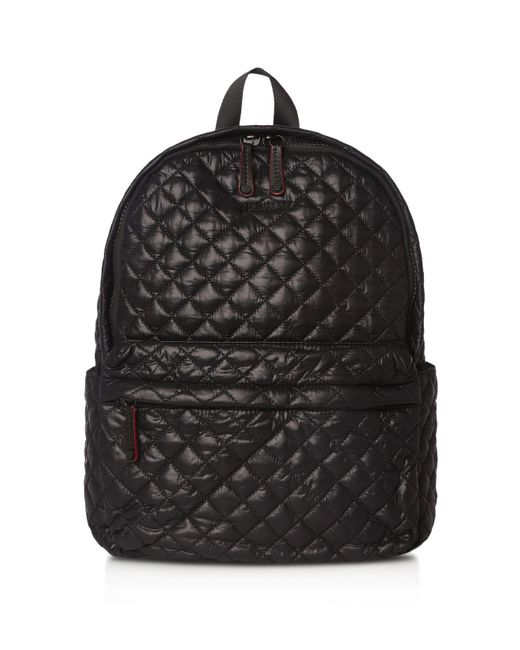 MZ Wallace | Small Metro Backpack Black Oxford Nylon | Lyst