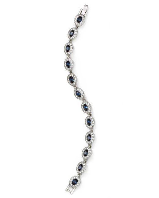Carolee - Metallic Oval Stone Bracelet - Lyst