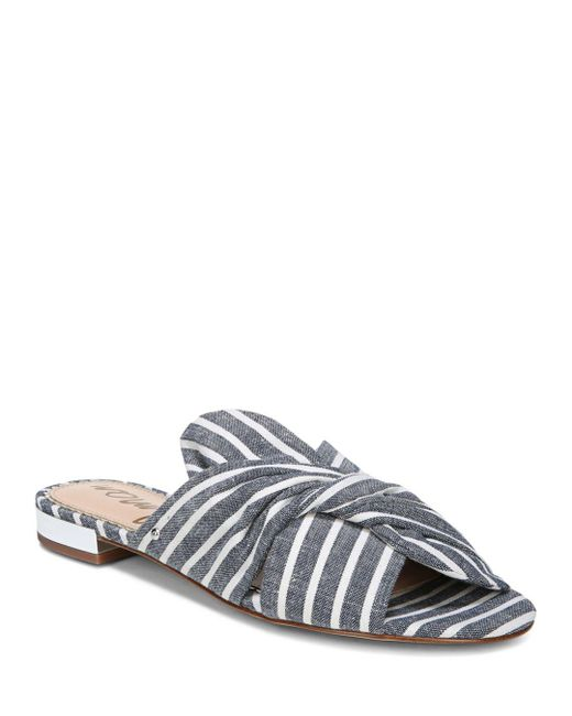 Sam Edelman - Multicolor Women's Darian Striped Slide Sandals - Lyst