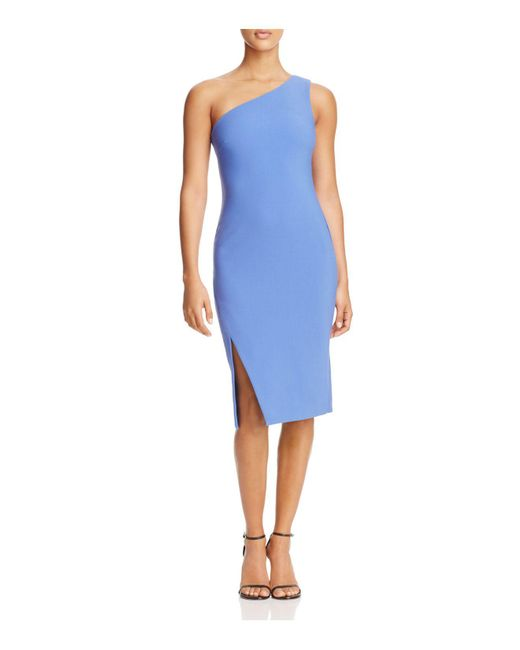 Likely | Blue Helena One-shoulder Dress | Lyst