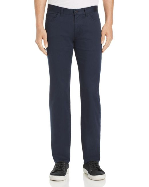 Theory - Blue Bryson Sateen Pants for Men - Lyst