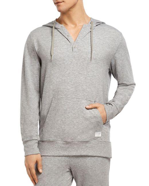 2xist - Gray Modern Essential Hooded Sweatshirt for Men - Lyst