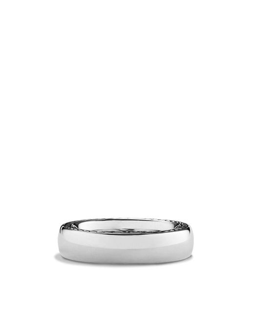 David Yurman - Metallic Streamline Band Ring for Men - Lyst