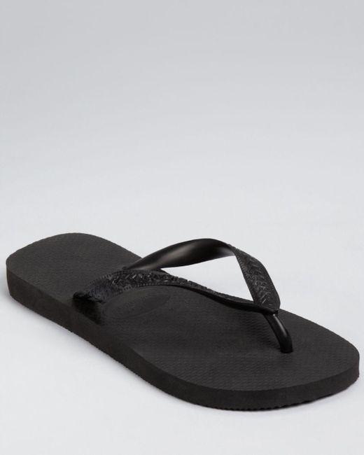Havaianas - Black Men's Top Flip-flops for Men - Lyst