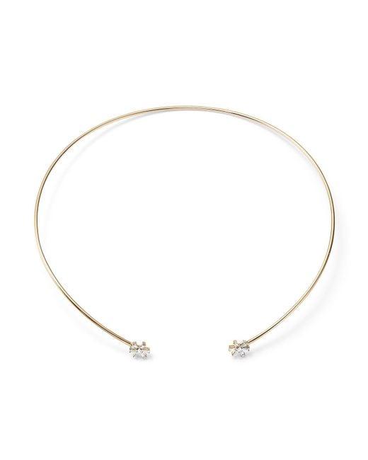 KC Designs | Metallic 14k Yellow Gold Diamond Starburst Choker Necklace | Lyst