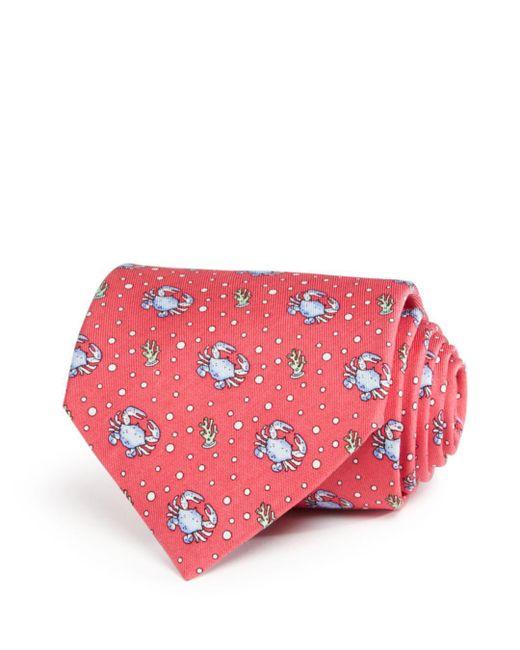 Vineyard Vines - Pink Crab Classic Tie for Men - Lyst