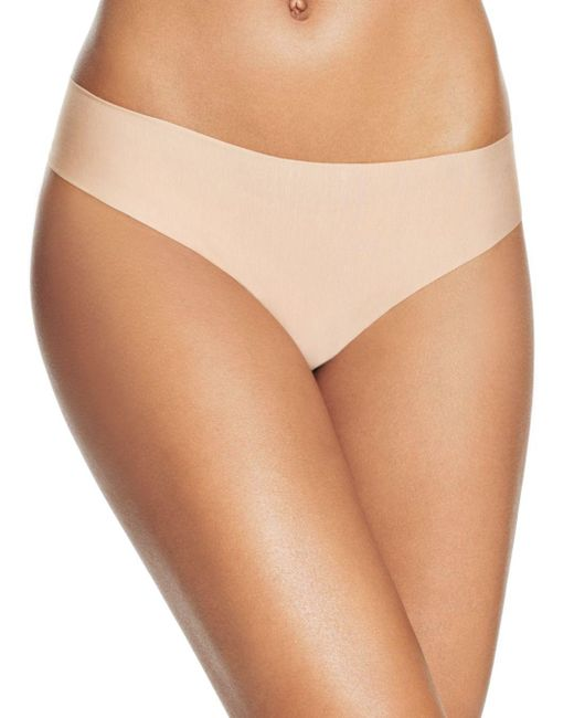 Commando - Natural Butter Mid-rise Thong - Lyst