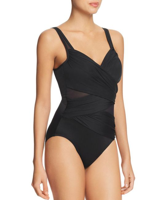 Miraclesuit - Black Network 18 Madero One Piece Swimsuit - Lyst