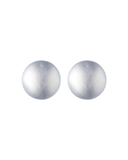 Alexis Bittar - Gray Medium Dome Lucite Clip - On Earrings - Lyst