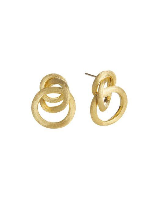 Marco Bicego | Metallic Jaipur 18k Yellow Gold Loop Earrings | Lyst