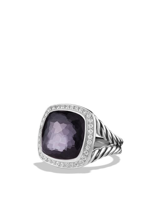 David Yurman - Metallic Albion Ring With Lavender Amethyst And Diamonds - Lyst